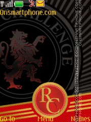 RCB - Royal Challengers Bangalore theme screenshot