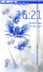 Blue_Flower theme screenshot