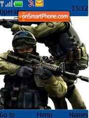 Counter Strike 03 theme screenshot