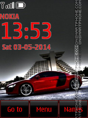 Audi R8 36 theme screenshot