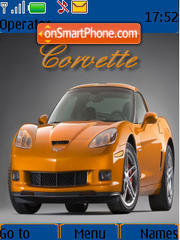 Corvette 03 tema screenshot