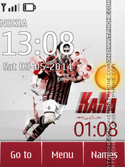 Ricardo Kaka theme screenshot