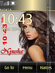 Nyusha 02 tema screenshot