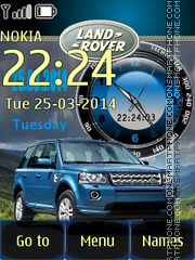 Land Rover Freelander theme screenshot