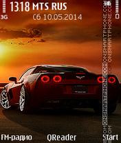 Скриншот темы Night-Car