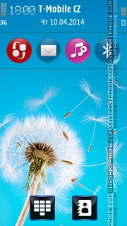 Natural Dandelion Theme-Screenshot