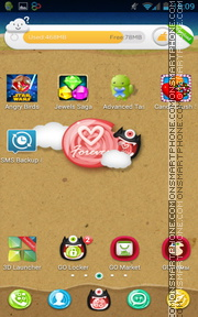 Love Forever 07 tema screenshot