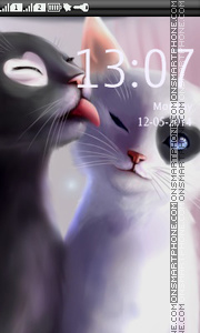 Love Cats theme screenshot