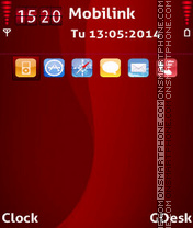 Iphone4 tema screenshot