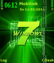 Window7 green tema screenshot