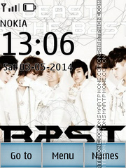 Beast B2ST tema screenshot
