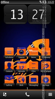 Rocket 01 tema screenshot