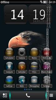 Dark Bird of Prey Theme-Screenshot