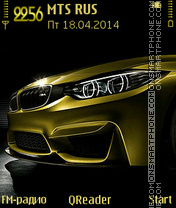 BMW-M4 theme screenshot