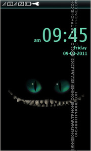 Cheshire Cat 03 theme screenshot