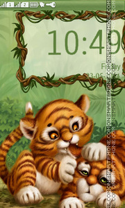 LİttLe Tiger theme screenshot