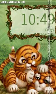 LİttLe Tiger tema screenshot