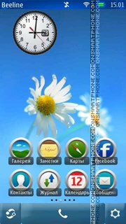 Light theme screenshot
