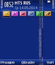 Скриншот темы Blue-Style