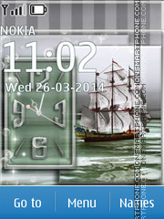 Sailing Ship 01 theme screenshot