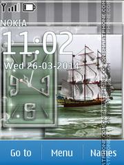 Sailing Ship 01 es el tema de pantalla