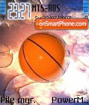 3D Basketball Animated theme screenshot