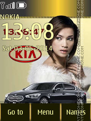 KIA K9 Sedan theme screenshot