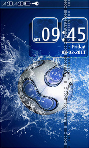 Скриншот темы Soccer Ball 02