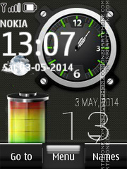 Battery Live Widget theme screenshot
