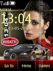Bugatti 21 theme screenshot
