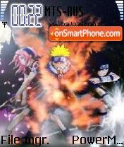 Naruto 03 theme screenshot