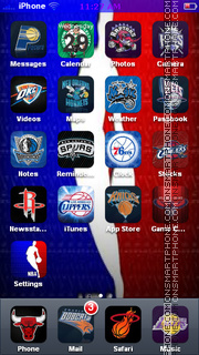 Nba 09 theme screenshot