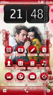 Happy Couple 01 es el tema de pantalla