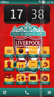 Liverpool 2014 tema screenshot