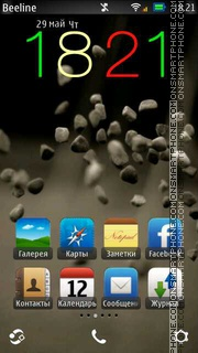 Throwing Stones Theme-Screenshot
