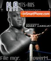 Bobby Lashley theme screenshot