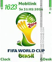 Скриншот темы Fifa world cup
