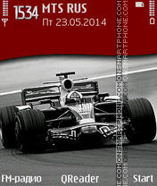 Red Bull theme screenshot