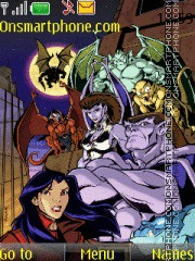 Gargoyles Disney theme screenshot