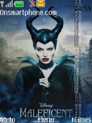 Maleficent tema screenshot
