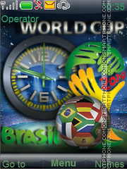 Fifa world cup 2014 theme screenshot