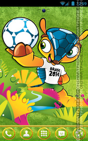 World Cup theme screenshot