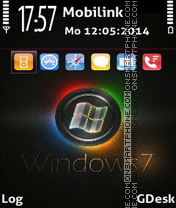 Window7 theme screenshot