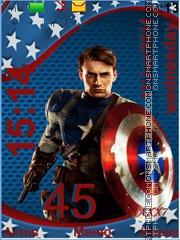 Capitan America theme screenshot