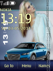 Audi 37 theme screenshot