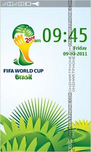 Скриншот темы Fifa World Cup 2014 In Brazil