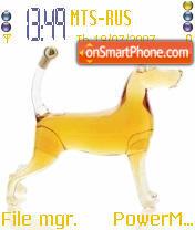 Glass Dog theme screenshot