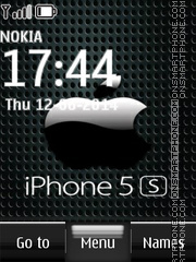 iPhone 5s Locker theme screenshot