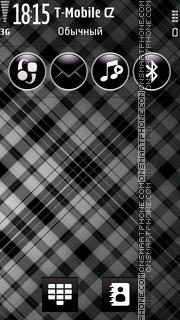 Gray Stripes es el tema de pantalla