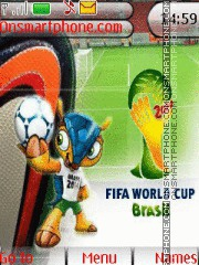 FIFA World Cup Brasil 2014 theme screenshot